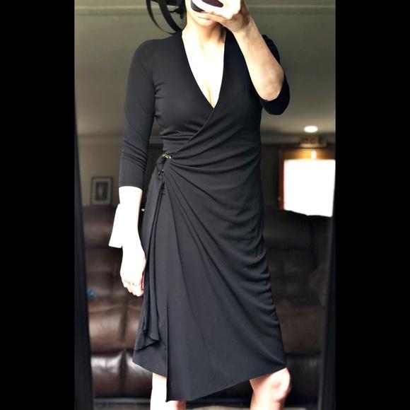 hot product brand new good Ralph Lauren Dresses   Lauren Black Wrap Dress Size 4 Nwt   Poshmark